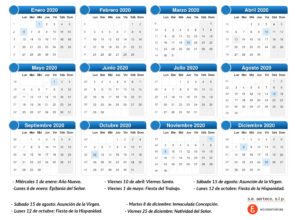 calendario laboral Serteco Alcoy